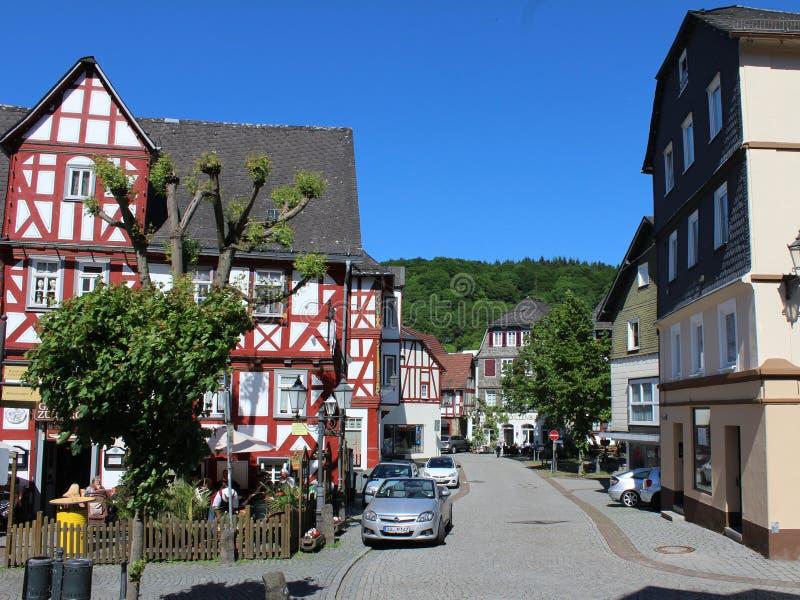 Dillenburg histórico fotos de archivo libres de regalías