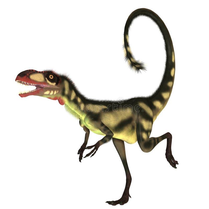 Dilong Dinosaur01 illustration libre de droits