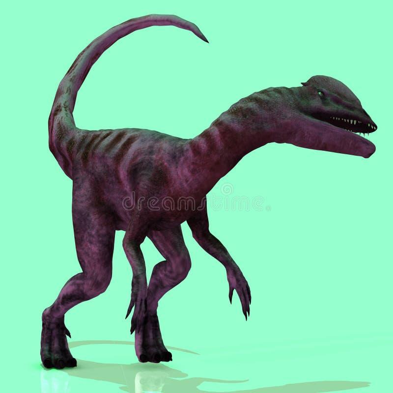 Dilophosaurus illustration libre de droits
