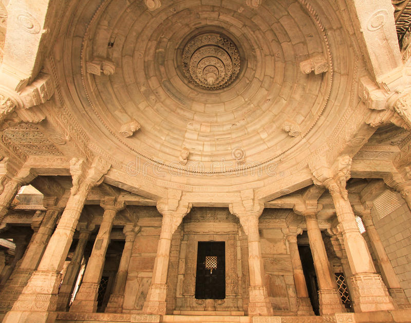 Dilwara Jain Temple royalty free stock images