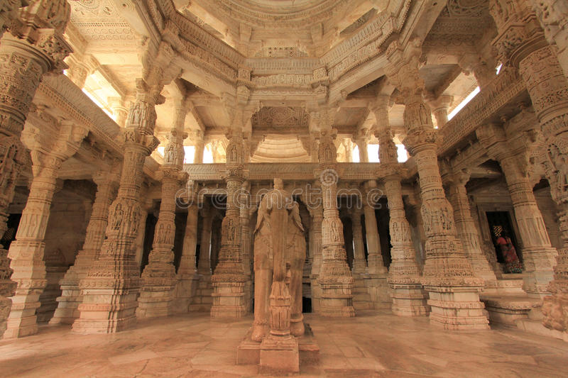 Dilwara Jain Temple. Mt Abu, Rajasthan royalty free stock photo