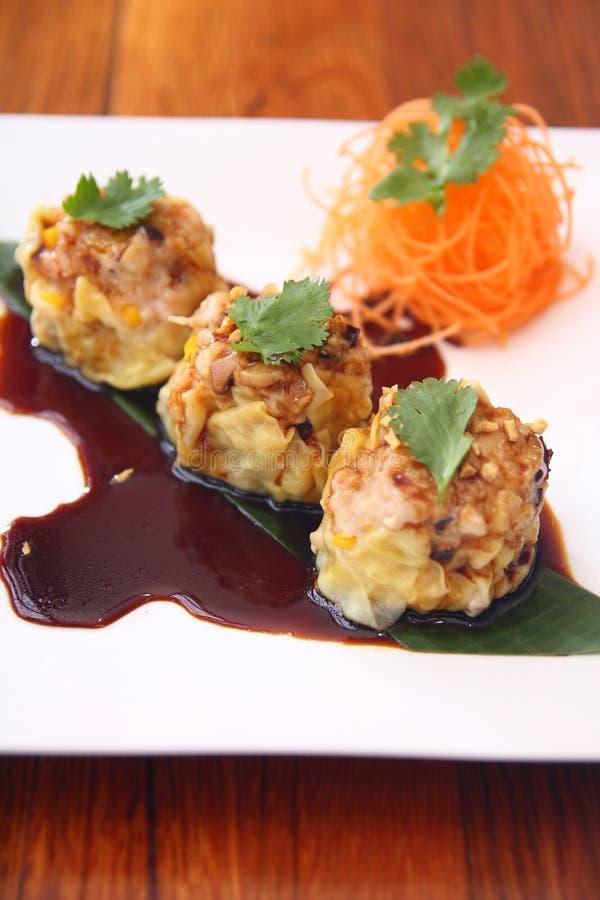 Free Dim Sim, Dumpling. Chinese Appetizer Stock Image - 30377401
