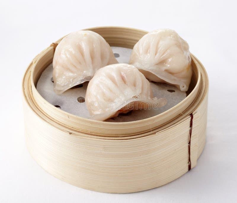 Dim sum chinês 'Hagao' imagem de stock