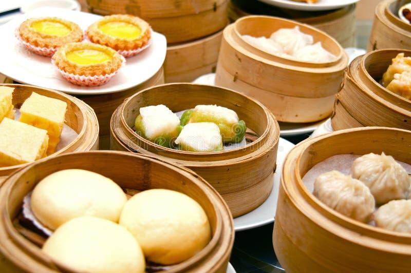 Dim Sum oriental foto de stock royalty free