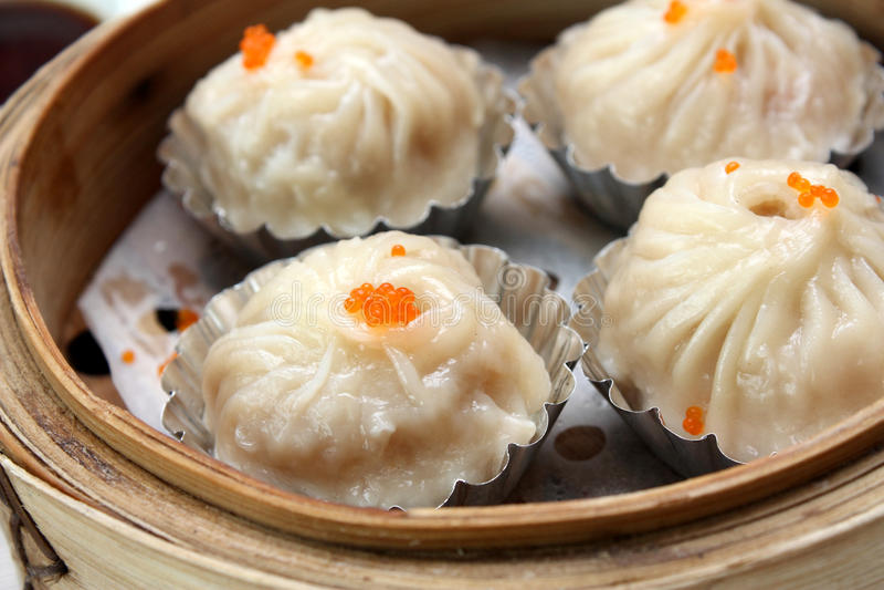 Dim Sum - Shanghai Dumplings royalty free stock photography
