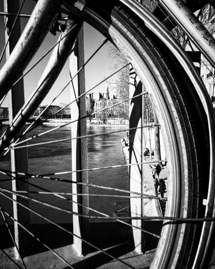 Dimensões da bicicleta imagens de stock royalty free