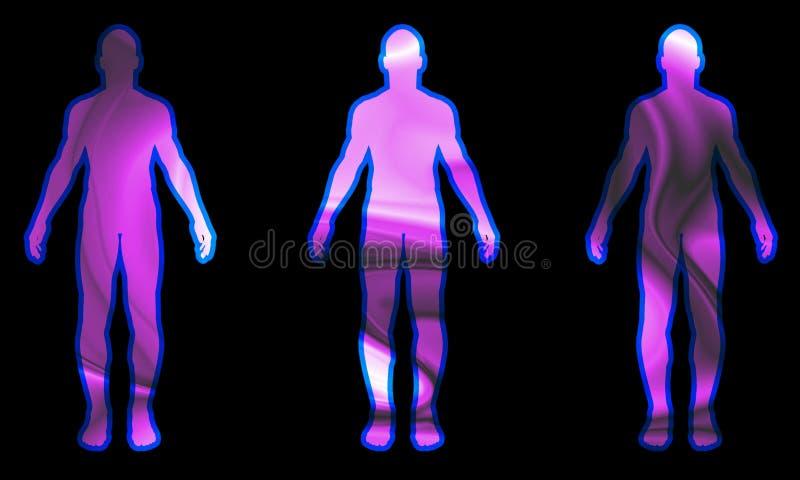 Dimensión de una variable 12 del hombre libre illustration