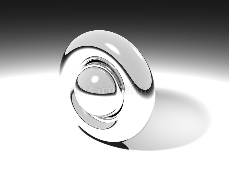 dimensión de una variable 3D stock de ilustración