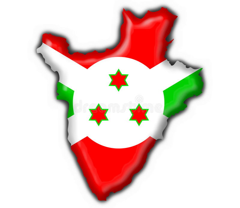 Dimensión de una variable de la correspondencia del indicador del botón de Burundi libre illustration