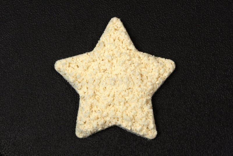 Dimensión de una variable de la estrella del polvo de la proteína fotos de archivo