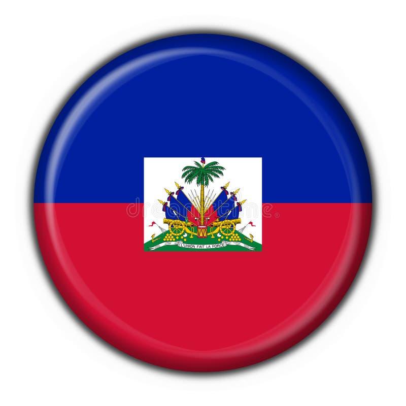 Dimensión de una variable redonda del indicador del botón de Haití libre illustration