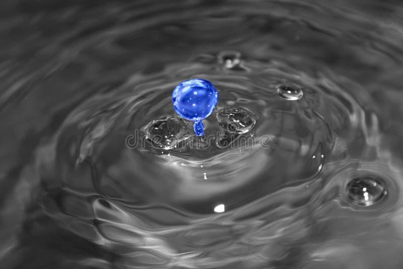 Dimensión de una variable y color del agua imagen de archivo