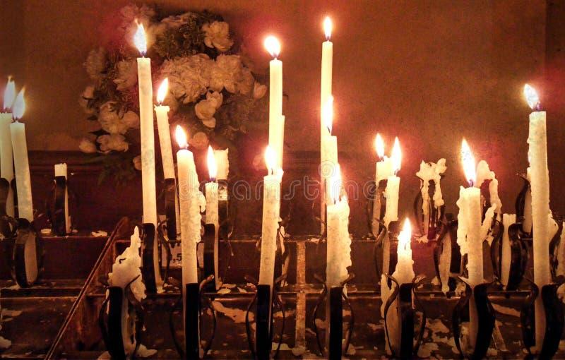 Dimensione spirituale: fuoco immagini stock