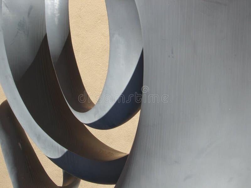 Dimensiones de una variable en la escultura II imagen de archivo