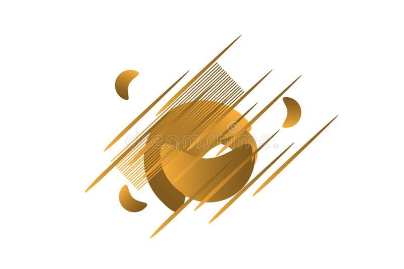 Dimensiones de una variable geométricas abstractas Banderas del gradiente hidráulico aisladas en blanco Fondo flúido del vector libre illustration