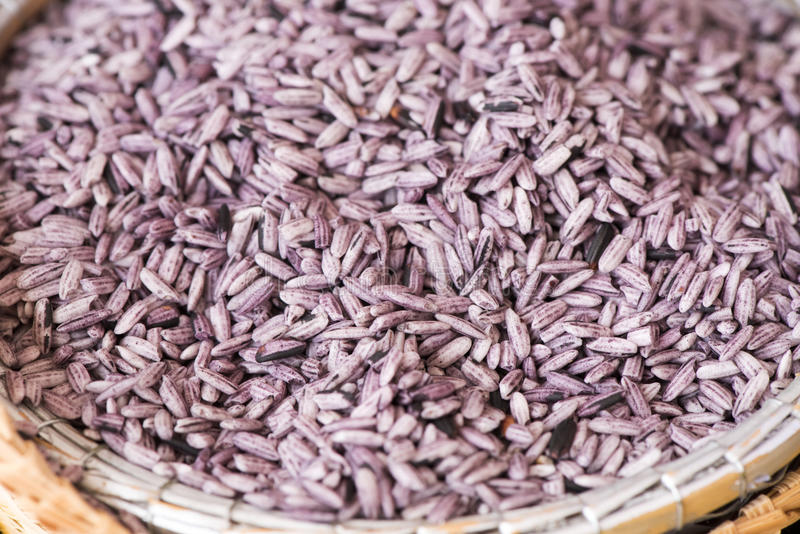 Dimentichi il marito del riso o Leum Pua Glutinous Rice immagini stock libere da diritti
