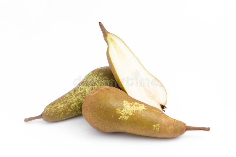 Diminua peras de Fetel imagem de stock