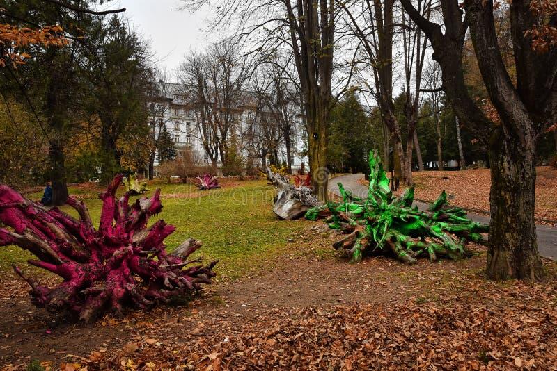 Dimitrie Ghica Park imagen de archivo
