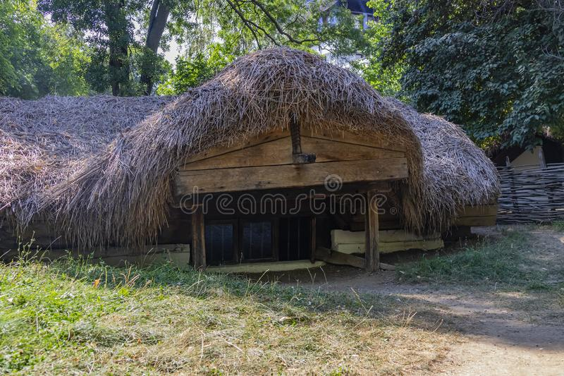 Dimitrie Gusti National Village Museum, Bucharest royalty free stock image