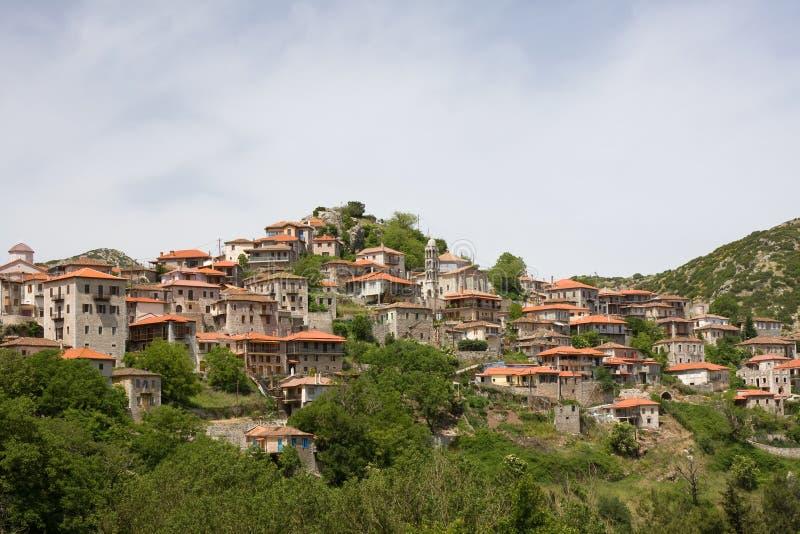 Dimitsana, Grecia imagen de archivo libre de regalías