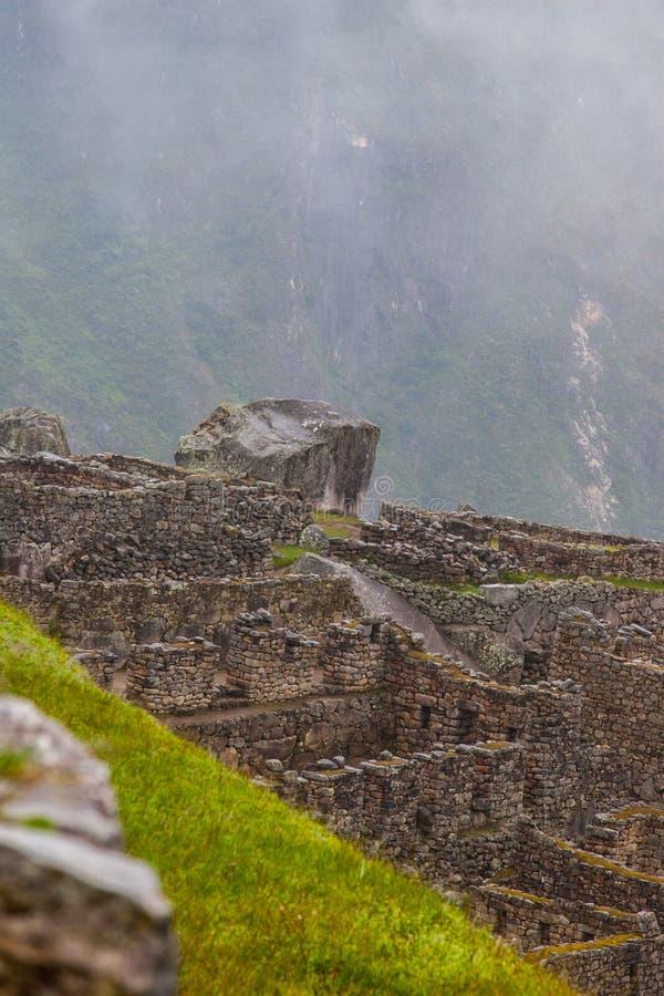 Dimma över forntida kultur för Inca arkivfoton
