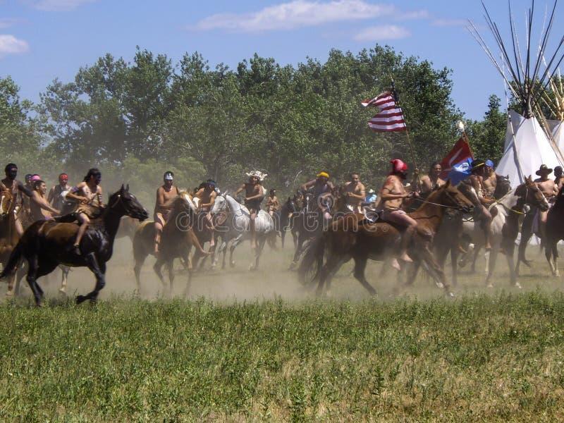 Dimman av kriget royaltyfri bild