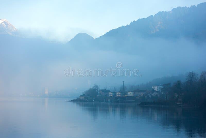 dimmig lake royaltyfri bild