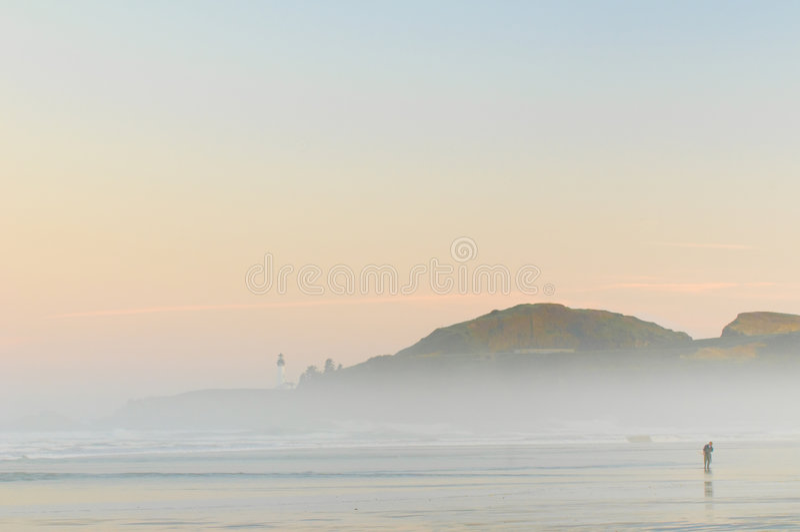 dimmig man för strand arkivbilder