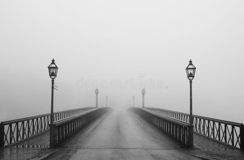 dimmig morgon stockholm arkivbilder