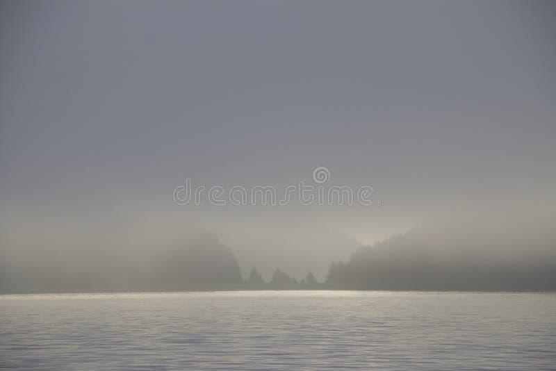 Dimmig morgonkust fotografering för bildbyråer