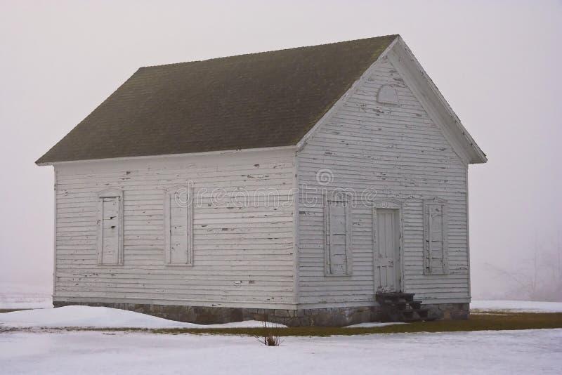 dimmig schoolhouse royaltyfria bilder