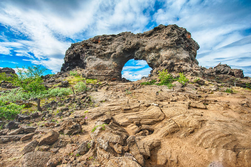 Dimmuborgir foto de stock royalty free