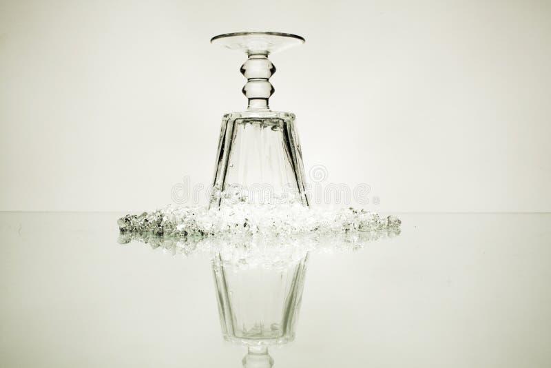 Dimond und Glas stockfotos