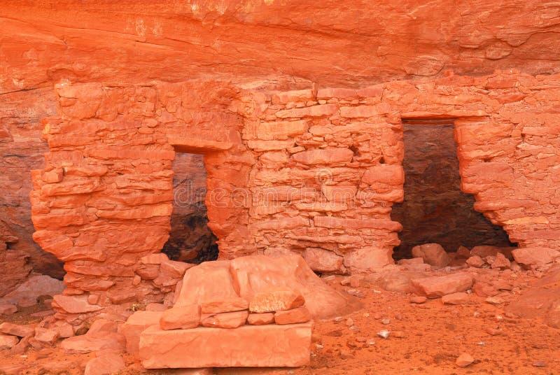 Dimora antica di Anasazi del Navajo immagine stock