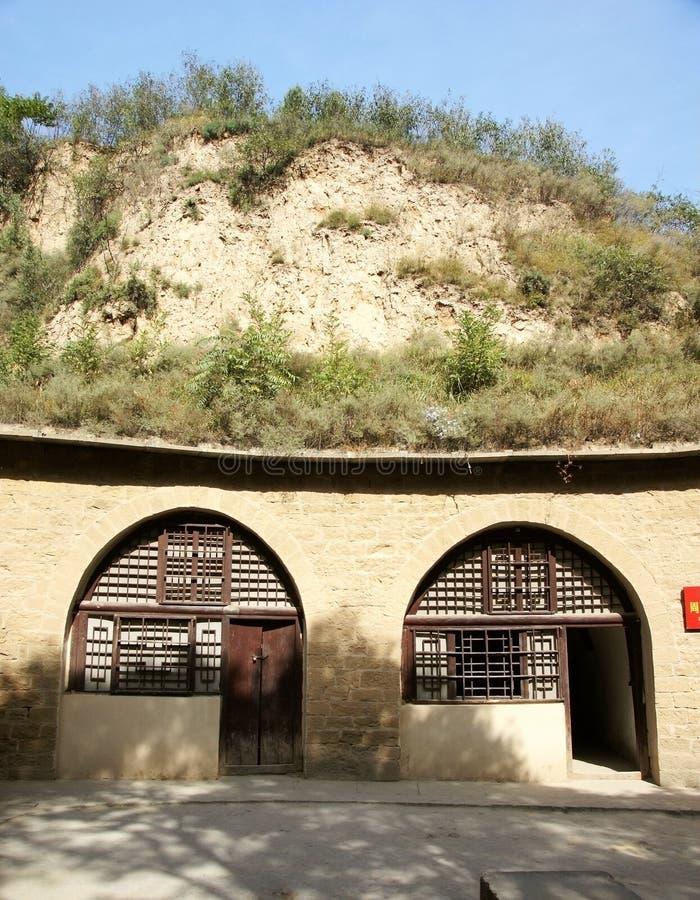 Dimora di caverna immagine stock