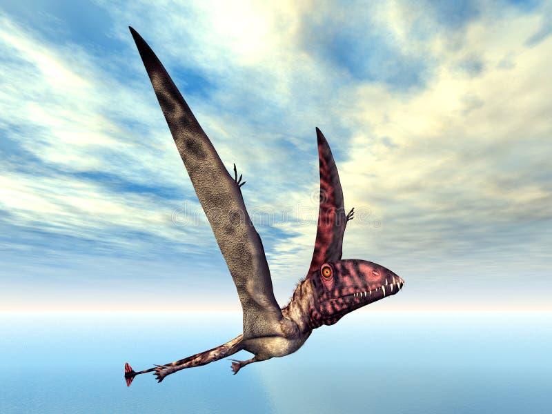 dimorphodon vektor illustrationer