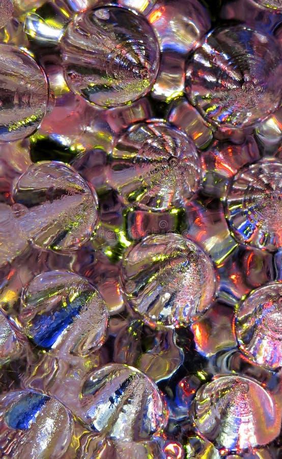 Dimpled lodowa tekstura obraz royalty free