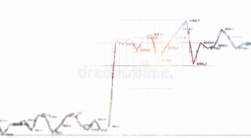 Dinâmica das vendas ilustração stock