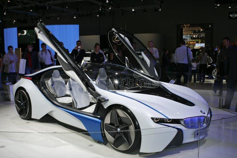 Dinâmica eficiente da visão de BMW fotos de stock royalty free