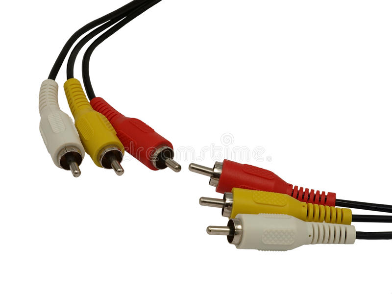 DIN Connector. Royalty Free Stock Photography