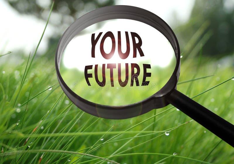din framtid fotografering för bildbyråer