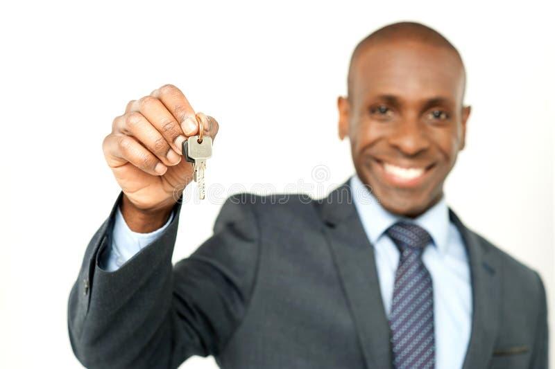 Din lägenhet är klar att uppta royaltyfria bilder