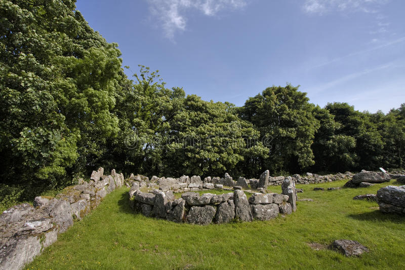 Download Din lligwy stock photo. Image of stones, ruins, tourist - 10741498