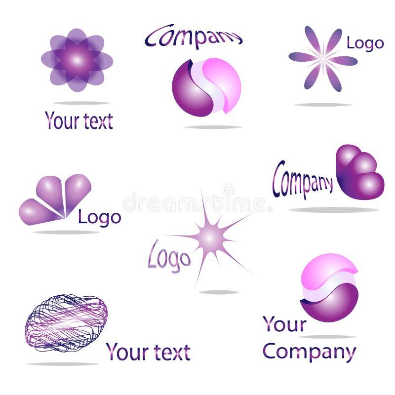 Download Din logo vektor illustrationer. Illustration av geometriskt - 27276762