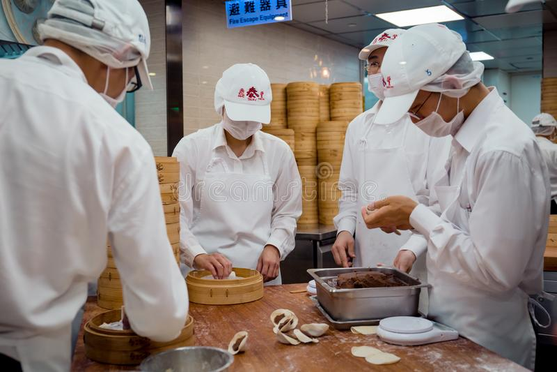 DIN Tai Fung στοκ φωτογραφία