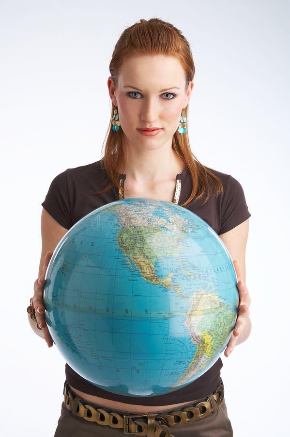 din värld fotografering för bildbyråer