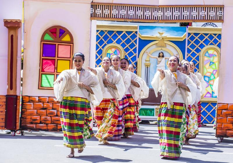 Dinagyang-Festival 2018 lizenzfreie stockfotografie