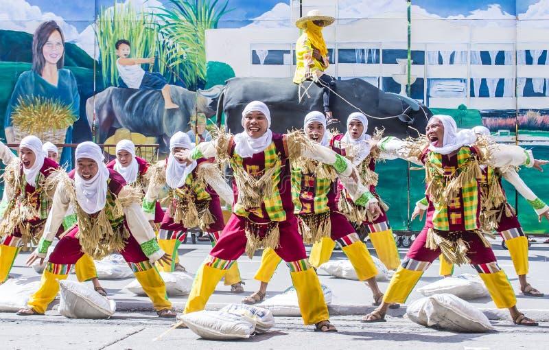 2018 Dinagyang festiwal zdjęcia royalty free