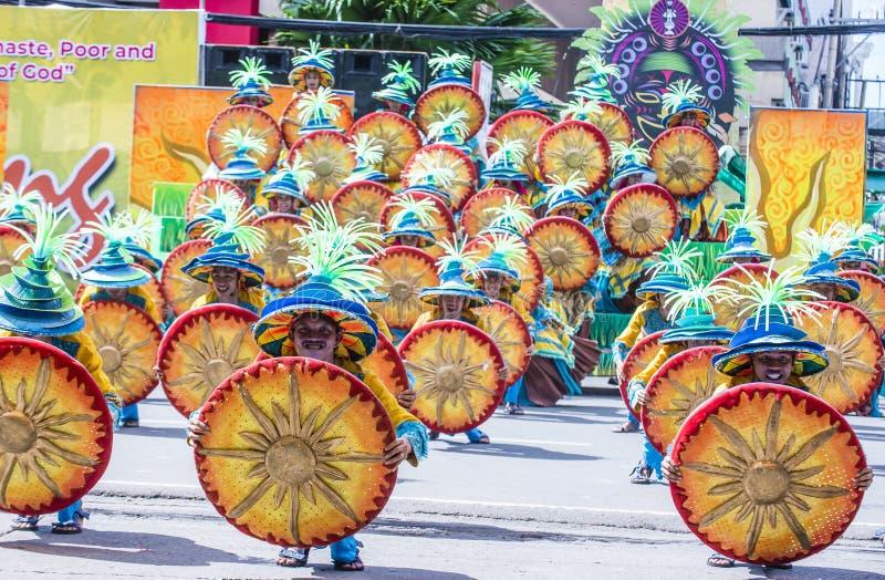 2018 Dinagyang festiwal obraz royalty free
