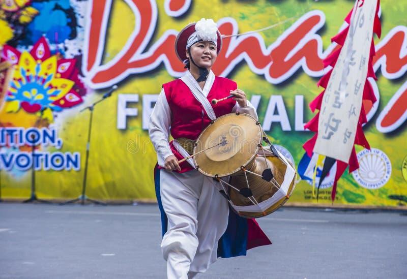2018 Dinagyang festiwal zdjęcia stock